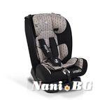 Детско столче за кола Hybrid Premium 0-36 kg - бежови линии