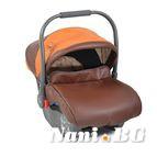 Детско столче-кошничка за кола Sofie 0-13 kg - кожа