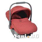 Детско столче-кошничка за кола Sofie 0-13 kg - червен