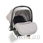Детско столче-кошничка за кола Veyron 0-13 kg - светло сив