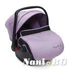 Детско столче-кошничка за кола Rachel 0-13 kg - виолет