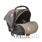 Детско столче-кошничка за кола Stefanie 0-13 kg - сив