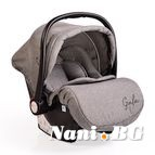 Детско столче-кошничка за кола Gala 0-13 kg - сив