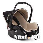 Детско столче-кошничка за кола Babytravel 0-13 kg - бежов