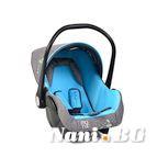 Детско столче-кошничка за кола Babytravel 0-13 kg - син