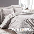 Луксозен спален комплект памучен сатен, жакард - FIONA TAS