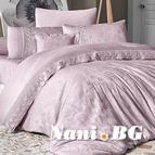 Луксозен спален комплект VIP сатен - BUHARA PUDRA