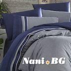 Луксозен спален комплект VIP сатен - IMAJ LACIVERT