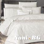 Луксозен спален комплект VIP сатен - JULLY