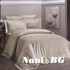Луксозен спален комплект памучен сатен Deluxe - NOVEL LINE S.KAH