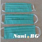 10 бр. памучни предпазни маска за многократна употреба - Виста02