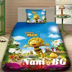 Детско 3D спално бельо - ПЧЕЛИЧКАТА МАЯ