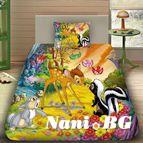 Детско 3D спално бельо - Bambi