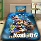 Детско 3D спално бельо - CLASH ROYALE
