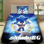 Детско 3D спално бельо - SONIC