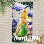 3D Плажни кърпи Kids - TINKERBELL