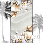 3D Плажни кърпи Summer - мидички