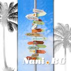 3D Плажни кърпи Summer - Direction