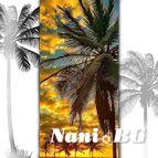 3D Плажни кърпи Summer - PALMS