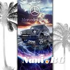 3D Плажни кърпи Motorsport - MERCEDES G CLAS