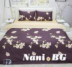 Спално бельо памучен сатен Никита