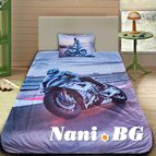 3Dспално бельо с Мотори - пистов мотор