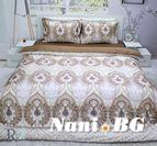 Спално бельо памучен сатен Росена