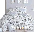 Спално бельо - Blumen сив