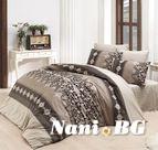 Спално бельо - Валерия кафява