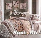 Спално бельо - Ла вива кафява