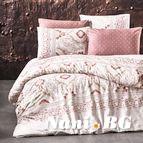 Спално бельо Айрис корал