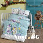Бебешки к-т с олекотена завивка - Бейби Блу