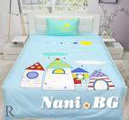 Детски спален комплект Къщички