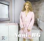 К-кт 1 халат + 2 хавлии за баня Ана - Розово