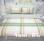 Спално бельо памучен сатен Леда