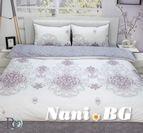 Спално бельо памучен сатен Амели