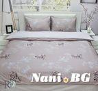 Спално бельо памучен сатен Хели