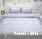 Спално бельо памучен сатен Сибила