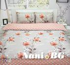 Спално бельо памучен сатен Бориса