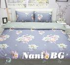 Спално бельо памучен сатен Лора