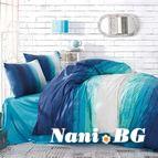 Спално бельо STRIPE BLUE