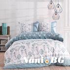 Спално бельо Glory blue