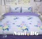 Спално бельо памучен сатен Меган