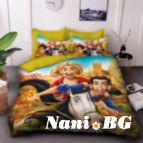 Детско 3D спално бельо - 8235