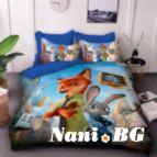 Детско 3D спално бельо - 8227