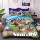 Детско 3D спално бельо - 8206