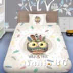 Детско 3D спално бельо - Арт Бухал
