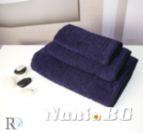 Хавлиена кърпа микропамук с кант Михаела - Лила