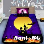 Детско 3D спално бельо - Нощ с Хелуин