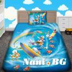Детско 3D спално бельо - Пате Доналд